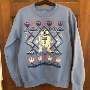 ❄️ R2D2 Star Wars crew neck sweatshirt